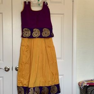 Other - Girl's Skirt and Tops-Partywear-IndianPattuPavadai